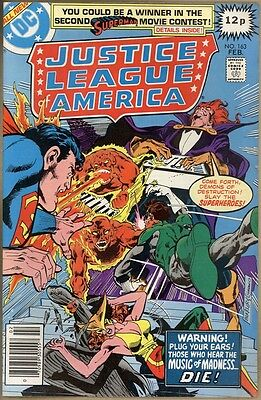 Justice League Of America #163 - FN