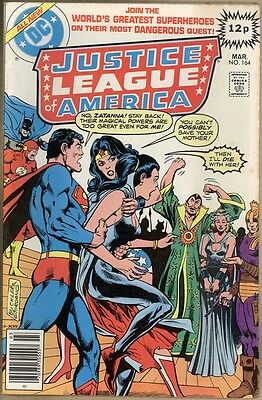 Justice League Of America #164 - VF-