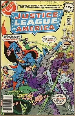 Justice League Of America #165 - FN/VF