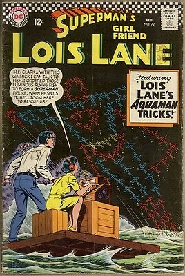 Superman's Girlfriend, Lois Lane #72 - G/VG