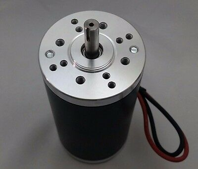 NEW 12V-DC 1/2-HP High-Torque Electrical-Motor Project Keyed-Shaft 5000-RPM 400W