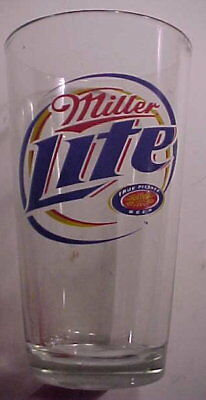 "MILLER LITE 6"" BEER Glass"