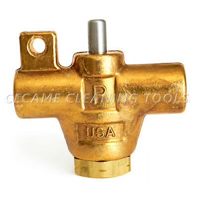 PMF V2P-EZ 1000 PSI Carpet Cleaning Wand Brass Valve