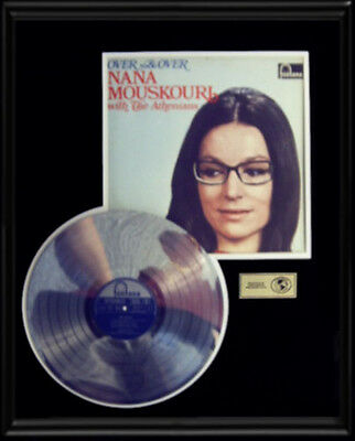 Nana Mouskouri Over And Over  Gold Record Platinum  Disc Lp Rare Album !
