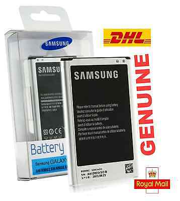 Genuine Samsung Galaxy Note 3 III N9000 Original B800BC Battery 3200mAh New UK