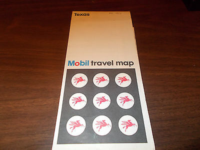 1969 Mobil Denver/Colorado Springs/Pueblo Vintage Road Map