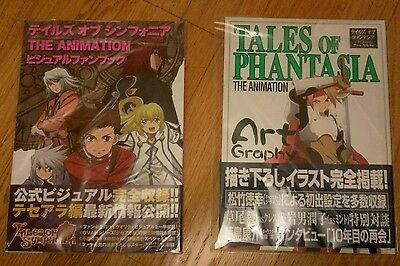 Tales of Symphonia Tales of Phantasia OVA Anime Art Book Art Graphy NEW