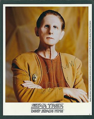 Rene Auberjonis signed 8x10 Star Trek Photograph