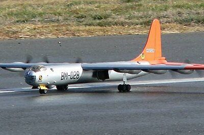 B-36 Peacemaker 115 inch WS  Giant Scale RC AIrplane Printed Plans