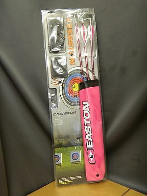 Easton First Start Archery Kit Pink Includes Arrow / Hip Quiver 321416 NEW!!