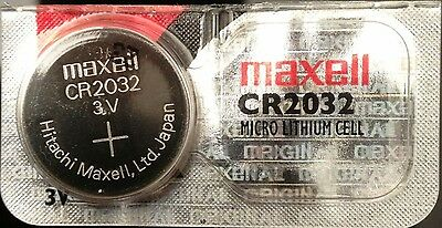 CR 2032 MAXELL LITHIUM BATTERIES (1 piece) 3V watch New Authorized Seller