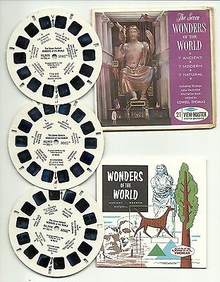 Viewmaster B 901 The Wonders of the World S6