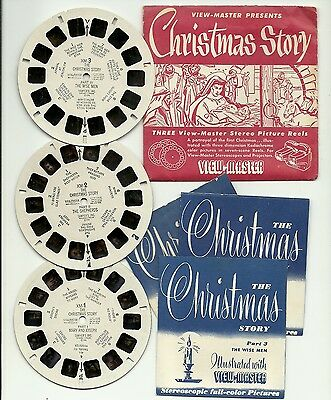 Viewmaster S2 The Christmas Story Diorama