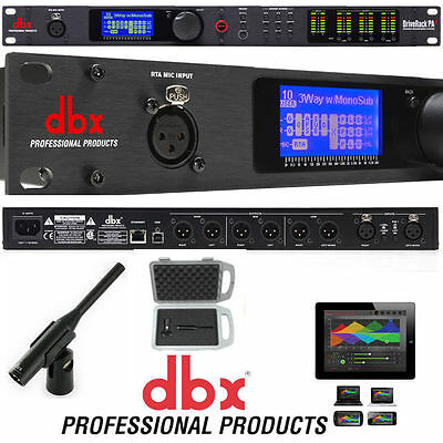 DBX Drive Rack PA2 with RTA Mic Complete PA Speaker management system