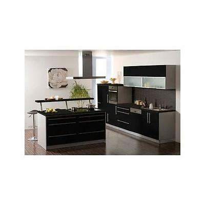 sch ller k che c1 gala lavaschwarz hochglanz eur. Black Bedroom Furniture Sets. Home Design Ideas
