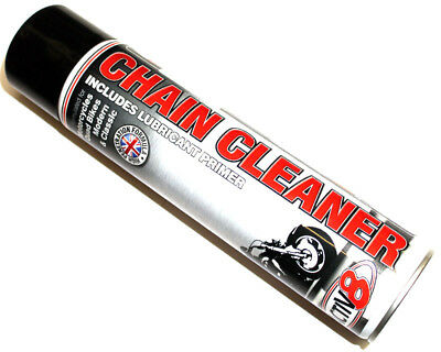 Active 8 Chain Cleaner Spray 600Ml UK KART STORE