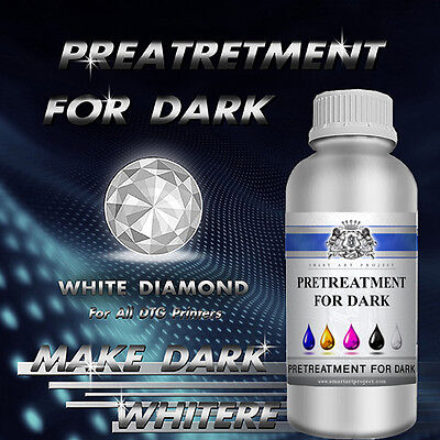 1L-1000ml & 5000ml & 20000ml Pretreatment For White & Dark Cotton DTG! Wholesale