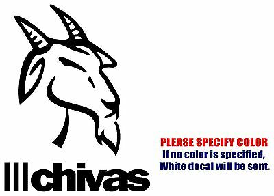 CHIVAS DEL GUADALAJARA #2 Mexico soccer football Vinyl Decal Sticker Car 7""