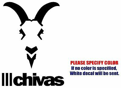 CHIVAS Mexico soccer football JDM Vinyl Decal Sticker Car Window Wall Bumper 7""