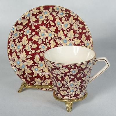 Lord Nelson Chintz Teacup & Saucer - Royal Brocade