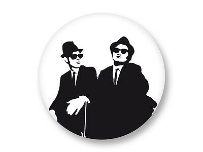 Pin Button Badge Ø38mm The Blues Brothers Soul Blues Rock US