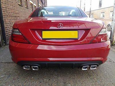 Mercedes SLK R170/R171/R172 Custom Built Stainless Steel Exhaust Back Box