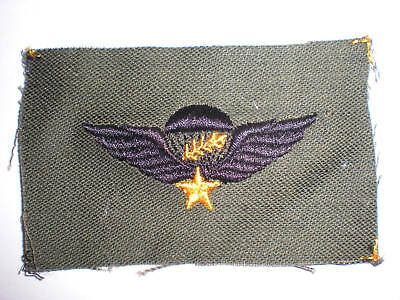 Us Army -South Vietnam Master Para Wings -Subdued