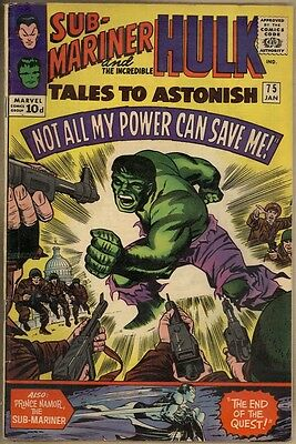 Tales To Astonish #75 - VG/FN