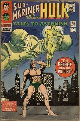 Tales To Astonish #78 - VG