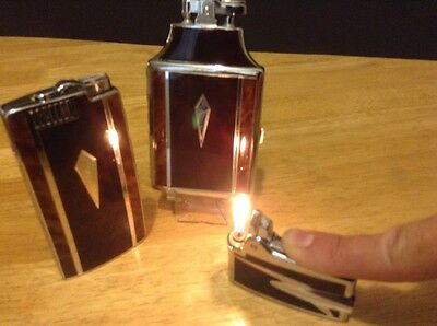 3 Vintage Ronson Lighters; Mastercase, Pal and Premiere  in box combo