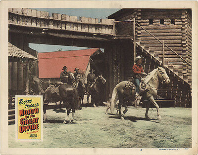 North of the Great Divide 1950 Original Movie Poster Western