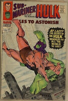 Tales To Astonish #87 - VG-