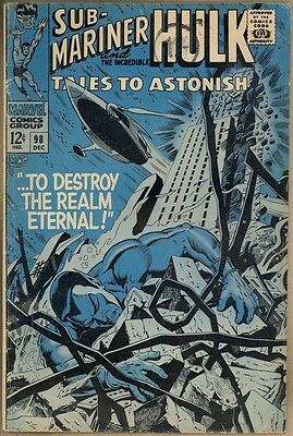 Tales To Astonish #98- VG-