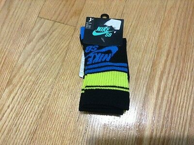 NWT Boys Nike SB HIGH CREW Size 7-9 For Shoe Size 3Y-5Y, 2 PAIRS