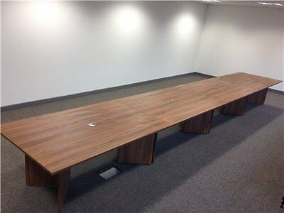 very large boardroom meeting office table