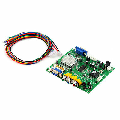 Arcade Game RGB/CGA/EGA/YUV to VGA HD Video Converter Board HD9800/GBS8200 7v
