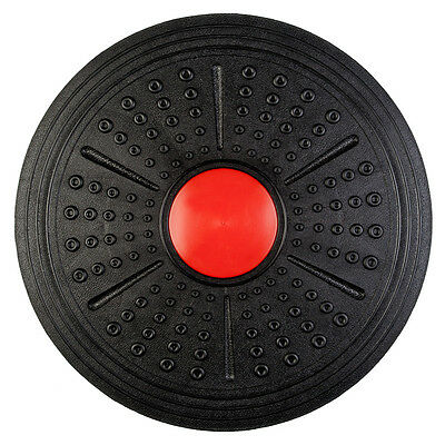 "16"" Wobble Balance Board Stability Trainer Core Fitness Strength Rocker Disc"
