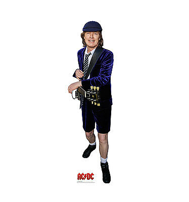 Angus Young AC/DC Life Size Cardboard Cutout Standup ACDC Music AC DC