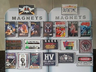 Choice of Fridge Magnet Inspired by Back to the Future. Flux. Buy 3 Get 4th Free