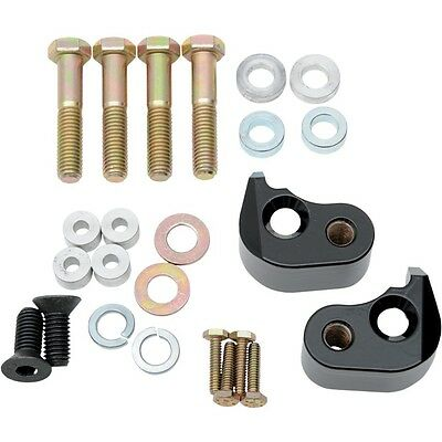 LA Choppers Black 1 in. Rear Lowering Kit For Harley Davidson Touring