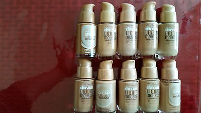 MAYBELLINE-Dream Liquid Mousse CHOOSE YOUR COLOR