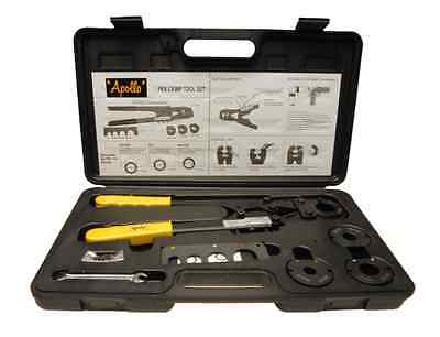 Apollo Multi-Head PEX Crimping Tool Wire Cable Crimper Cutting Tool Combo Wrench