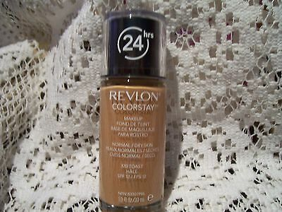 Revlon New 24HRS ColorStay Foundation Normal/Dry Skin Toast