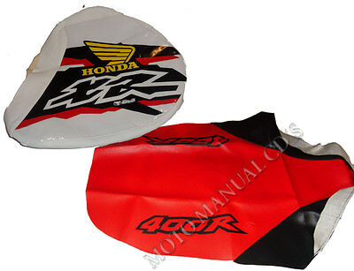 Kit Seat & Tank Cover Honda Xr 400R 1998!!! Funda Sillin..shipping Worldwide