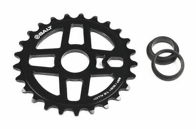 Salt BMX Pro Sprocket 25T Black. Suits 23.8mm, 22mm or 19mm Axle.