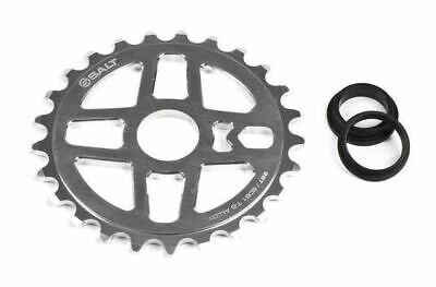 Salt BMX Pro Sprocket 25T Silver Polish (Chrome) Suits 23.8mm, 22mm or 19mm Axle