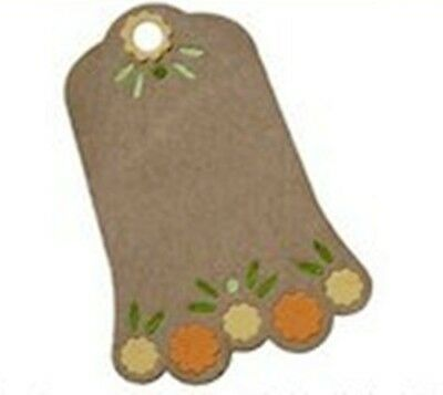 Flower Tag die - for use in most die cutting systems