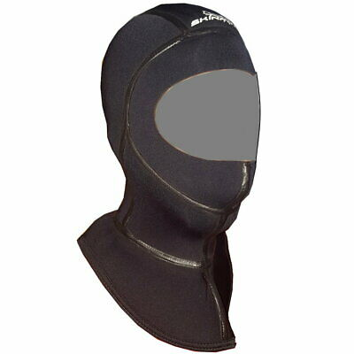 Kopfhaube Superelastic Classic Dive Hood 5mm Stretch Neopren mit Thermokragen