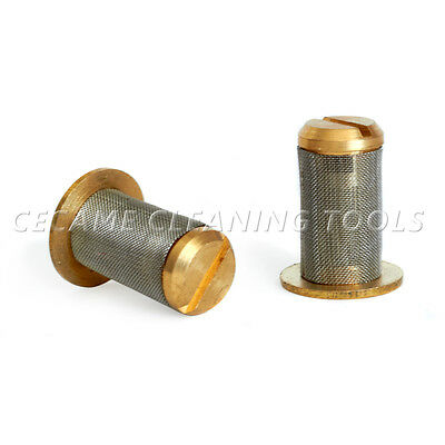 Tee Jet Filter & Strainer with Check Valve for Carpet Cleaning Wands T Jets