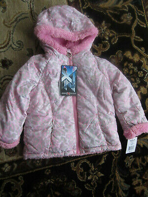 NWT ZeroXposur Sherpa Lined Leopard Transitional Jacket Toddler Girl SIZE: 3T 4T